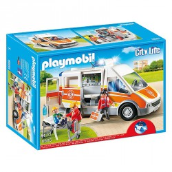 PLAYMOBIL CITY LIFE AMBULANCIA