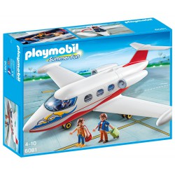 PLAYMOBIL SUMMER FUN AVION DE VACACIONES