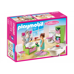 PLAYMOBIL DOLLHOUSE BAÑO VINTAGE