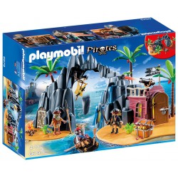 PLAYMOBIL PIRATES ISLA DEL TESORO PIRATA