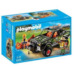 PLAYMOBIL WILD LIFE COCHE PICK UP DE AVENTURAS