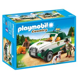 PLAYMOBIL COUNTRY GUARDABOSQUE CON PICK UP
