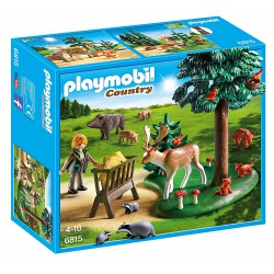 PLAYMOBIL COUNTRY ANIMALES DEL BOSQUE