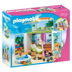 PLAYMOBIL SUMMER FUN COFRE BUNGALOW EN LA PLAYA