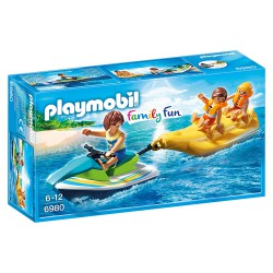 PLAYMOBIL FAMILY FUN MOTO DE AGUA CON BANANAS
