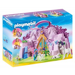 PLAYMOBIL FAIRIES MALETIN CASTILLO DE UNICORNIOS