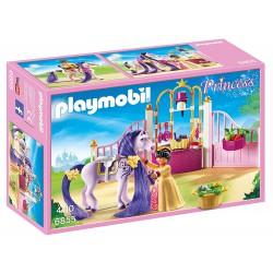 PLAYMOBIL PRINCESS ESTABLO DEL CABALLO REAL