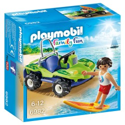 PLAYMOBIL FAMILY FUN SURFISTA CON BUGGY