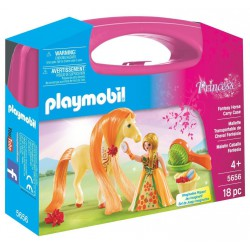 PLAYMOBIL PRINCESS MALETIN CON CABALLO FANTASIA