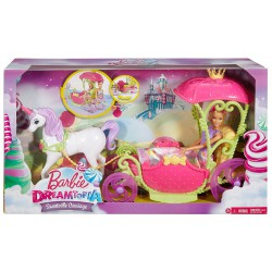 MUÑECA BARBIE CARROZA REINO DE CHUCHES