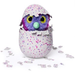 HATCHIMALS PINGUINO BRILLO MAGICO