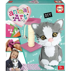 EDUCA BORRAS ANIMAL ART GATITO