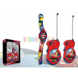 SET RELOJ DIGITAL Y WALKIE TALKIES CARS 3