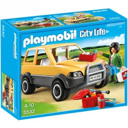 PLAYMOBIL CITY LIFE VETERINARIO CON COCHE