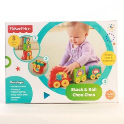 FISHER PRICE STACK&ROLL
