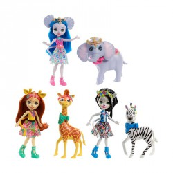 ENCHANTIMALS MUÑECA + ANIMAL GRANDE