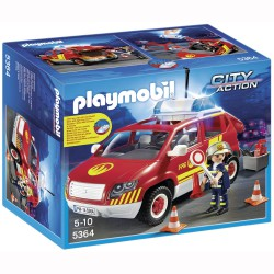 PLAYMOBIL CITY ACTION COCHE BOMBERO