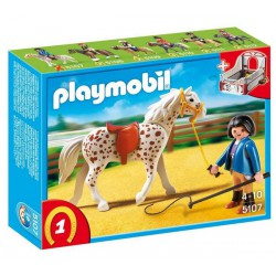 PLAYMOBIL COUNTRY CABALLO CON MONITORA