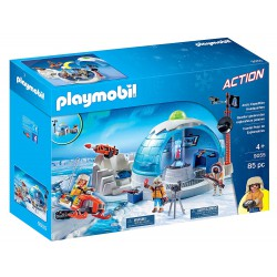 PLAYMOBIL ACTION CUARTEL POLAR DE EXPLORADORES