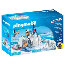 PLAYMOBIL ACTION Exploradores con Osos Polares