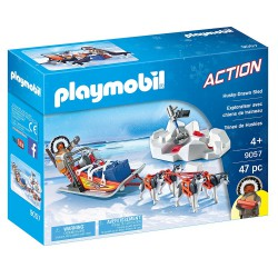 PLAYMOBIL ACTION Trineo de Huskys