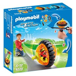 PLAYMOBIL SPORTS & ACTION SPEED ROLLER NARANJA