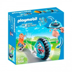 PLAYMOBIL SPORTS & ACTION SPEED ROLLER AZUL