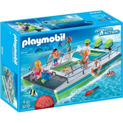 PLAYMOBIL SPORTS & ACTION Barco Vistas Fondo Marino con Motor Submarino