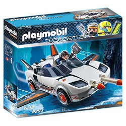 PLAYMOBIL TOP AGENTS AGENTE SECRETO Y RACER