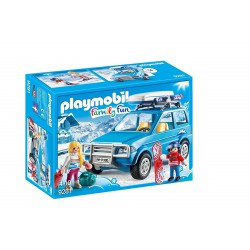 PLAYMOBIL FAMILY FUN COCHE DE NIEVE