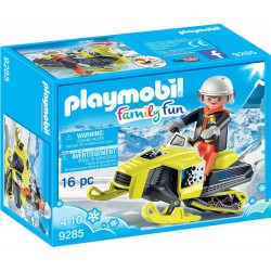 PLAYMOBIL FAMILY FUN MOTO DE NIEVE