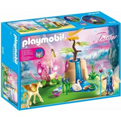 PLAYMOBIL FAIRIES LAGO CON HADAS BEBE