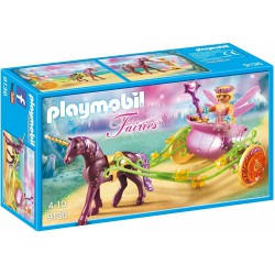PLAYMOBIL FAIRIES HADA FLOR CON CARRO