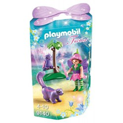 PLAYMOBIL FAIRIES NIÑA HADA CON BUHO