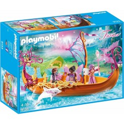 PLAYMOBIL FAIRIES BARCO ROMANTICO DE LAS HADAS
