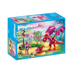 PLAYMOBIL FAIRIES DRAGON CON BEBE
