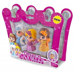 Pinypon Pack de 3 princesas