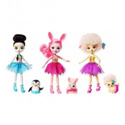 Enchantimals Tripack Muñecas Ballet
