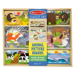 Animal Picture Boards de Melissa