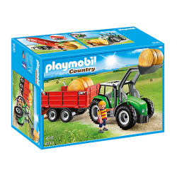 PLAYMOBIL COUNTRY TRACTOR CON TRAILER