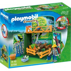 PLAYMOBIL COUNTRY COFRE ANIMALES DEL BOSQUE