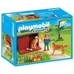 PLAYMOBIL COUNTRY GOLDEN RETRIEVERS