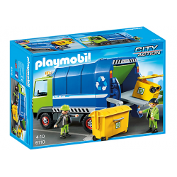 PLAYMOBIL CITY ACTION CAMION DE RECICLAJE