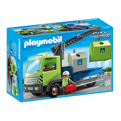 PLAYMOBIL CITY ACTION CAMION DE CONTENEDORES