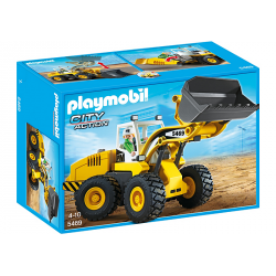 PLAYMOBIL CITY ACTION CARGADORA FRONTAL