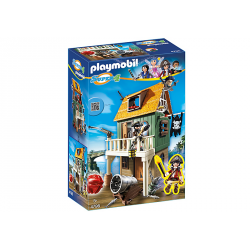 PLAYMOBIL SUPER4 FUERTE PIRATA CAMUFLADO CON RUBY