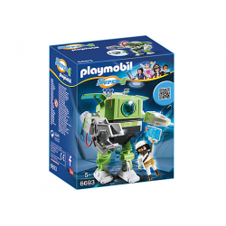 PLAYMOBIL SUPER4 CLEANO ROBOT