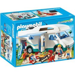 PLAYMOBIL SUMMER FUN AUTOCARAVANA 6671