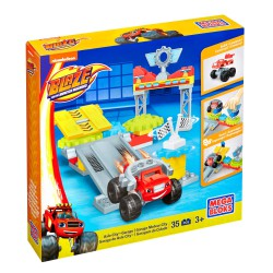 GARAGE DE AXLE CITY BLAZE MEGA BLOCKS